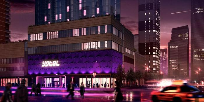 YOTEL New York wedding venue picture 6 of 16 - Provided by: YOTEL New York