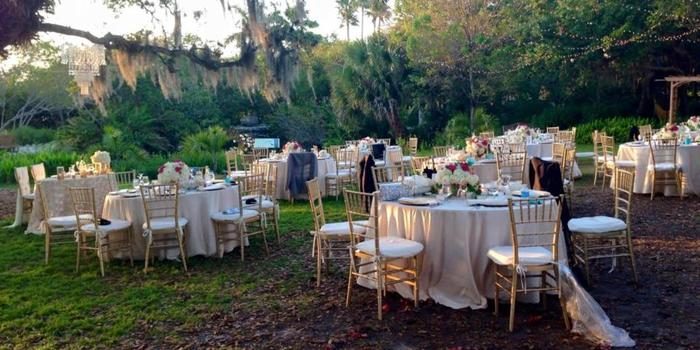 Gazebo at Phillippi Estate Park wedding venue picture 1 of 8 - Photo by: Sarasota Catering Company Photography