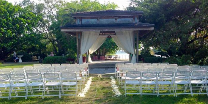 Gazebo at Phillippi Estate Park wedding venue picture 8 of 8 - Photo by: Sarasota Catering Company Photography