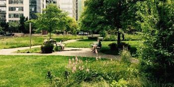 Tanner Springs Park weddings in Portland OR