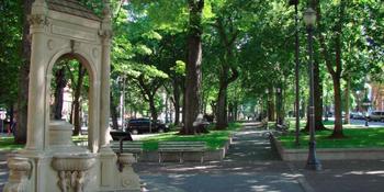 Shemanski Plaza S Park Blocks weddings in Portland OR