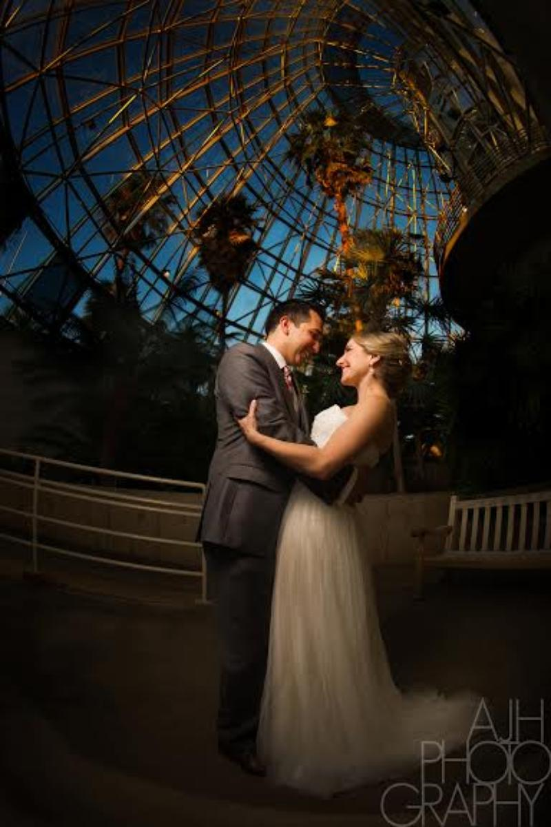 San Antonio Botanical Garden wedding venue picture 10 of 10 - Photo by: AJH Photography
