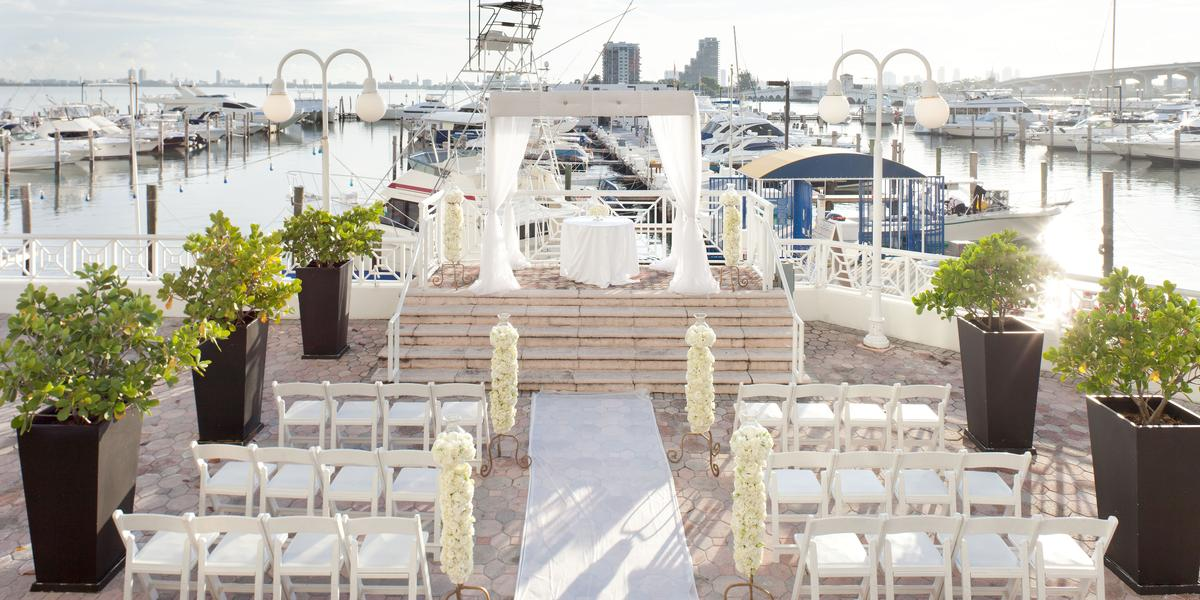 Miami Marriott Biscayne Bay Weddings
