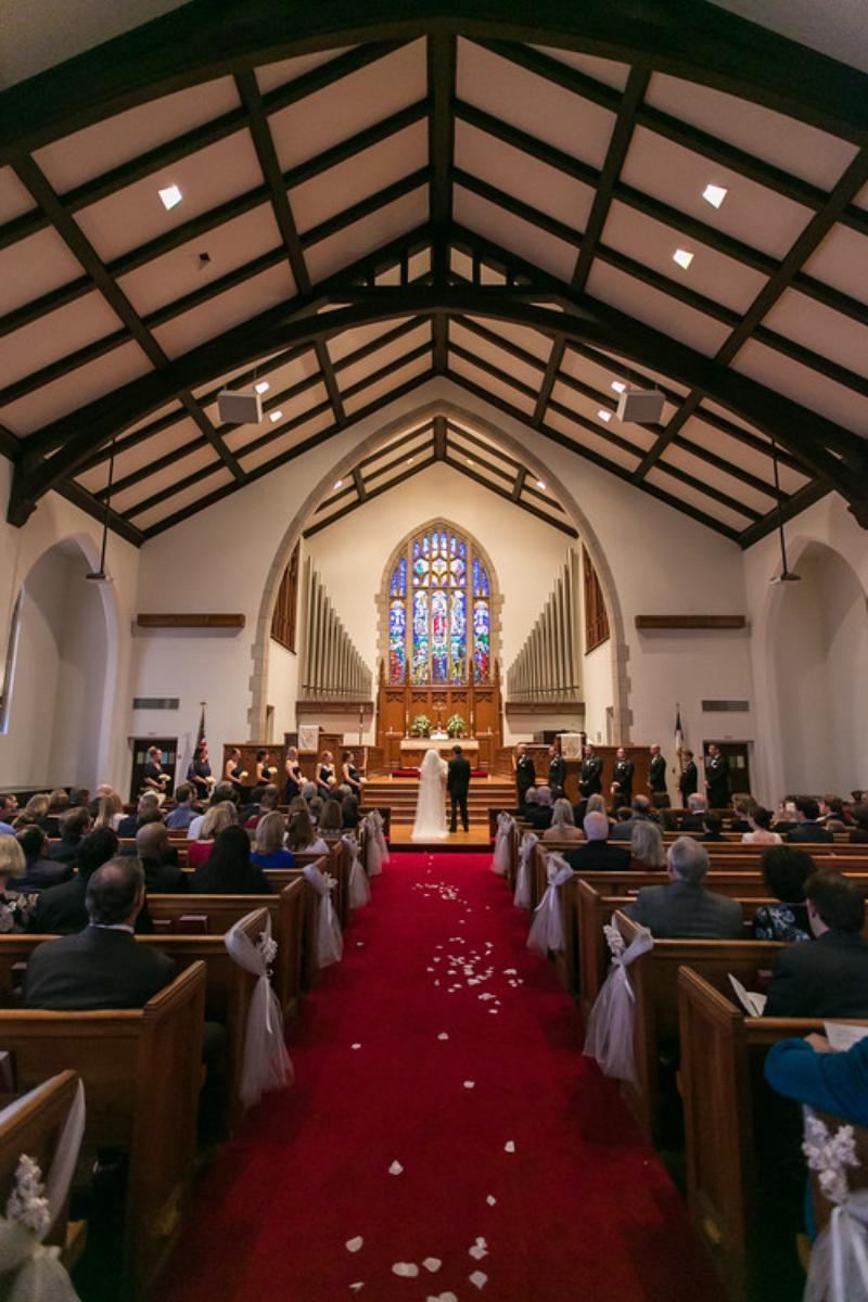 Christ methodist church wedding
