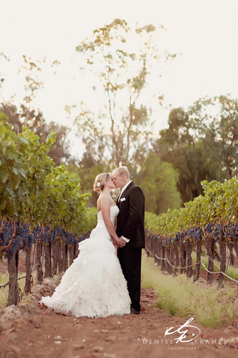 Lorimar Winery wedding venue picture 12 of 16 - Photo by: Denise Kramer Photography