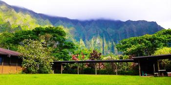 Ho`omaluhia Botanical Garden weddings in Kaneohe HI