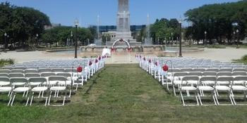 Veterans Memorial Plaza weddings in Indianapolis IN