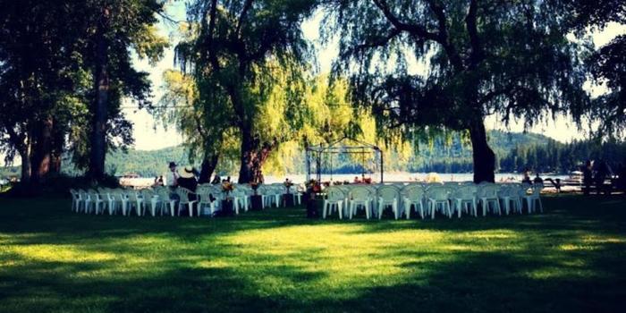 Deer Lake Resort wedding Spokane