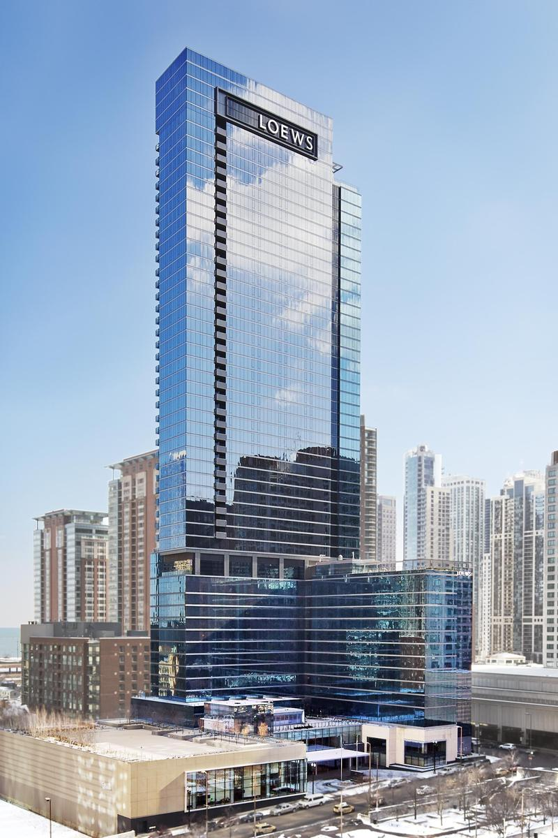 Loews chicago hotel weddings get prices for wedding for Hotell chicago