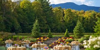 Topnotch Resort weddings in Stowe VT