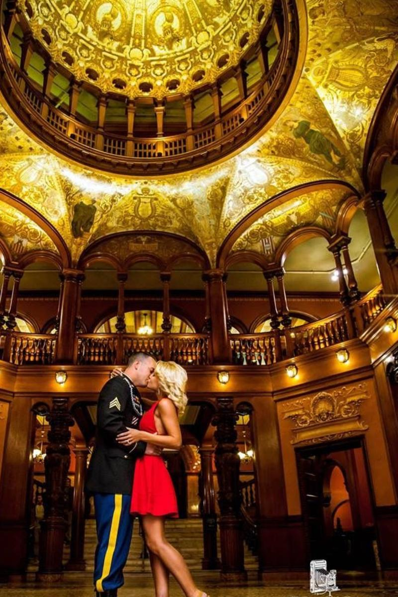 Ponce de Leon Ballroom at Flagler College wedding venue picture 7 of 8 - Photo by: Dan maffett Photography
