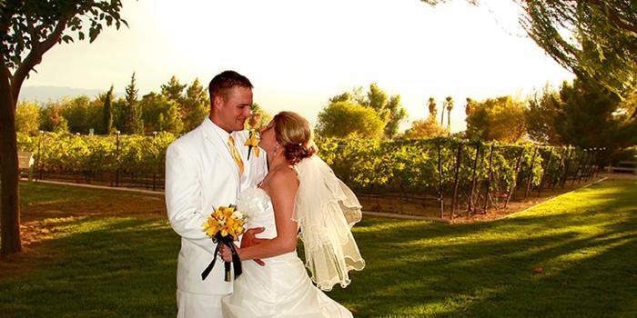 Sanders Family Winery wedding Las Vegas