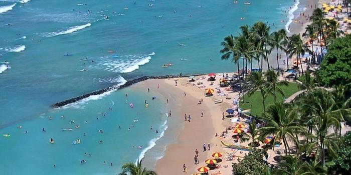 Beach Wedding Ceremony Oahu: Alohilani Resort Waikiki Beach Weddings