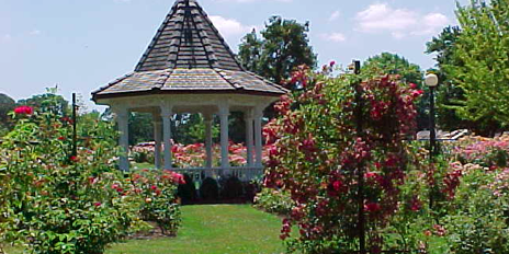 Bush Pasture Park Rose Garden Gazebo Venue Salem