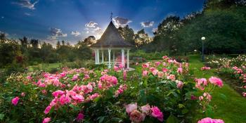 Bush Pasture Park Rose Garden Gazebo weddings in Salem OR