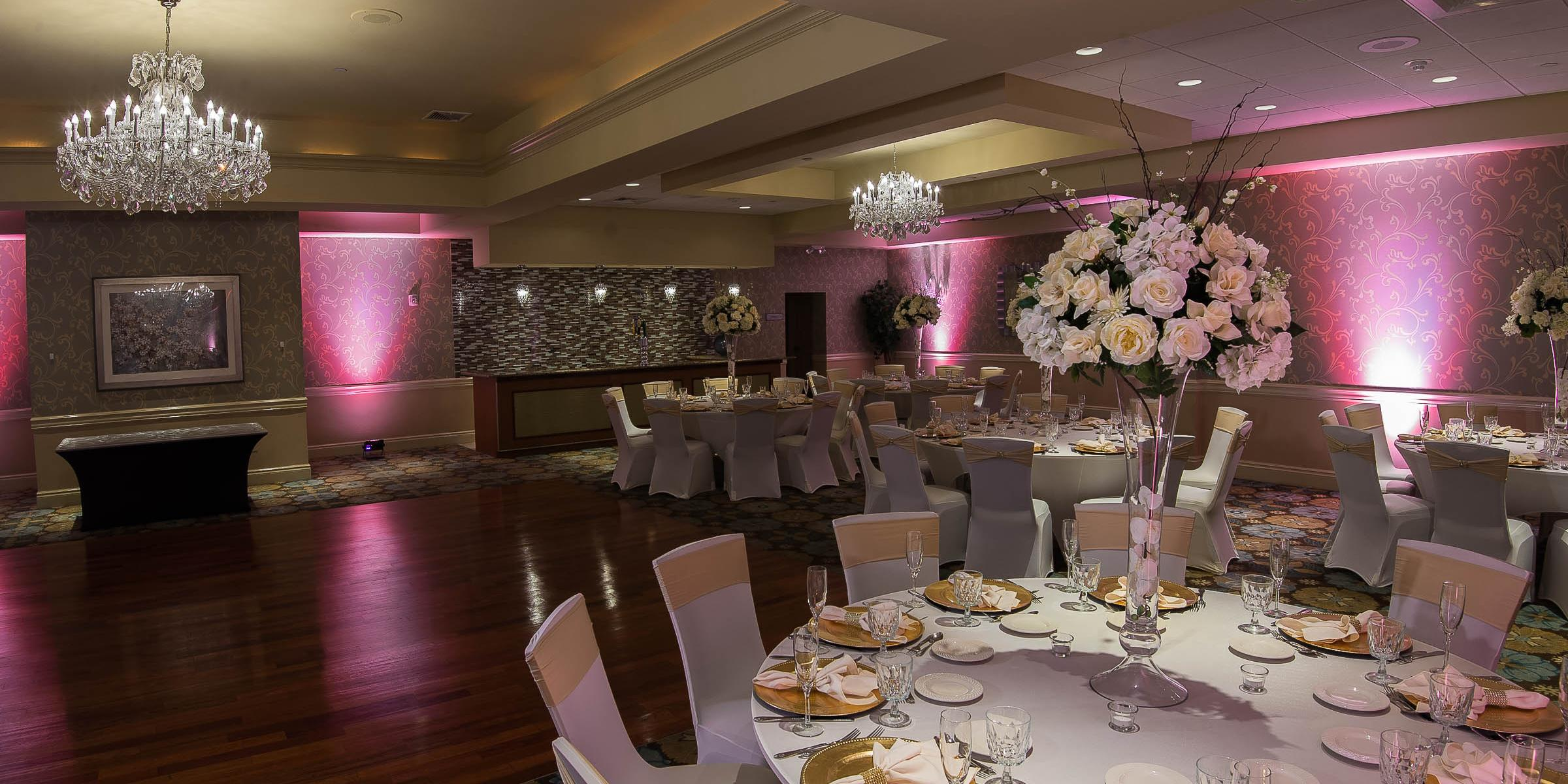 Crystal Ballroom at the Radisson Freehold | Venue, Freehold