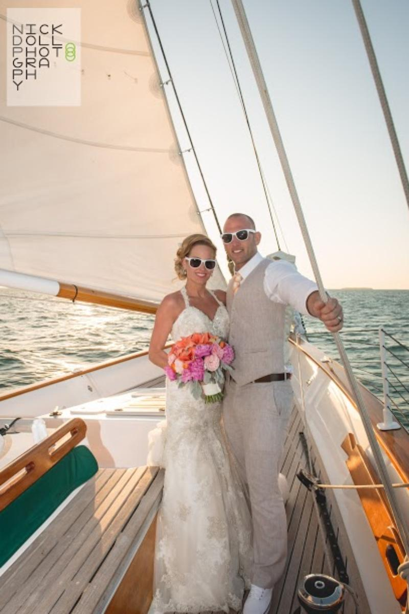 Classic Harborline: Schooner America 2.0 wedding venue picture 3 of 8 - Photo by: Nick Doll Photography