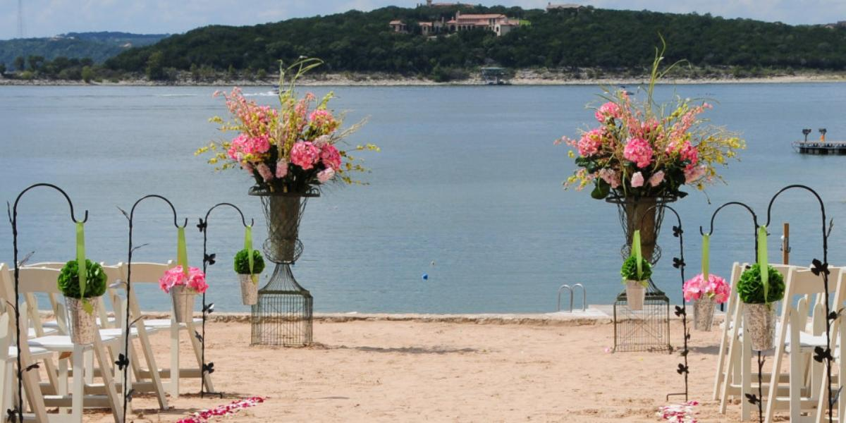 Shore club volente beach weddings get prices for wedding for Texas beach wedding packages