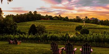 Crane Creek Vineyard weddings in Young Harris GA
