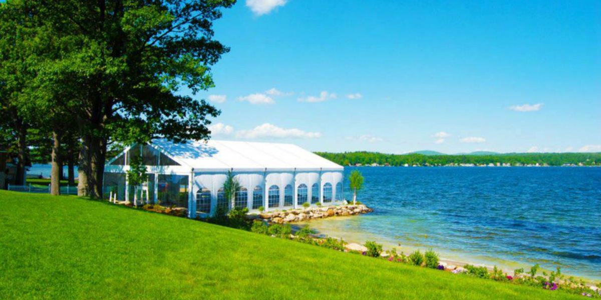 New hampshire wedding venues on the water mini bridal for Best new england wedding venues
