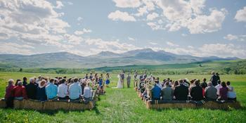 The Home Ranch weddings in Clark CO