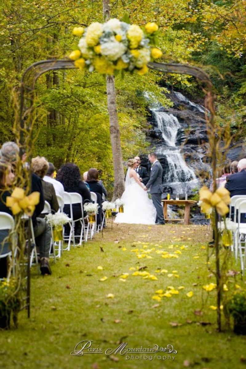 Hightower Falls wedding venue picture 16 of 16 - Photo by: Paris Mountain Photography
