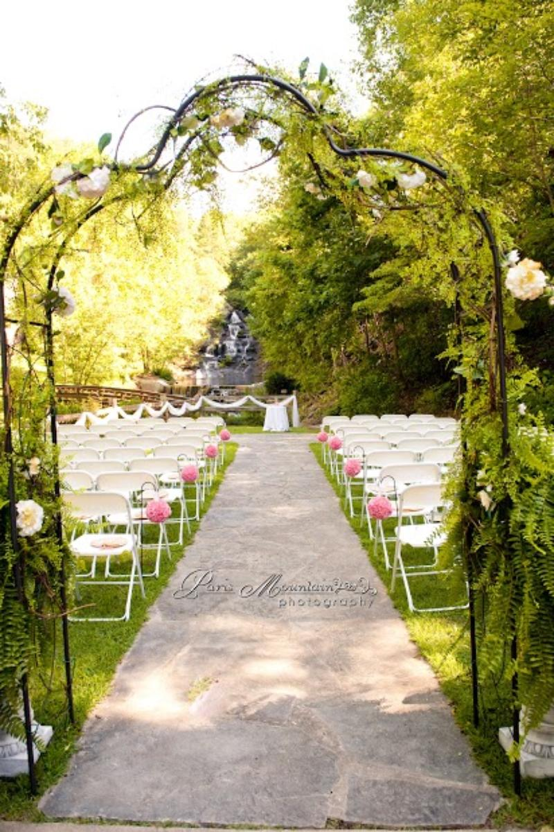 Hightower Falls wedding venue picture 15 of 16 - Photo by: Paris Mountain Photography