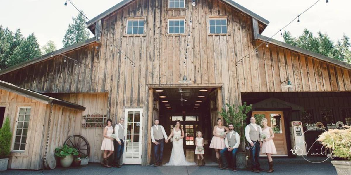 Poulsbo farm wedding