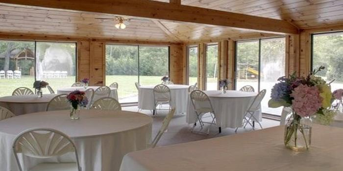 Cherry Log Pavilion at Mountain Laurel Cabins Weddings ...