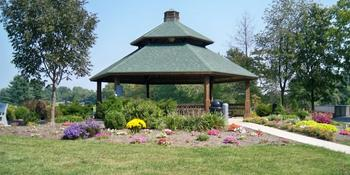 Whispering Winds Gazebo at Glazebrook Park weddings in Godfrey IL