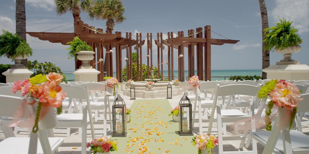 Miami Beach Resort And Spa Wedding
