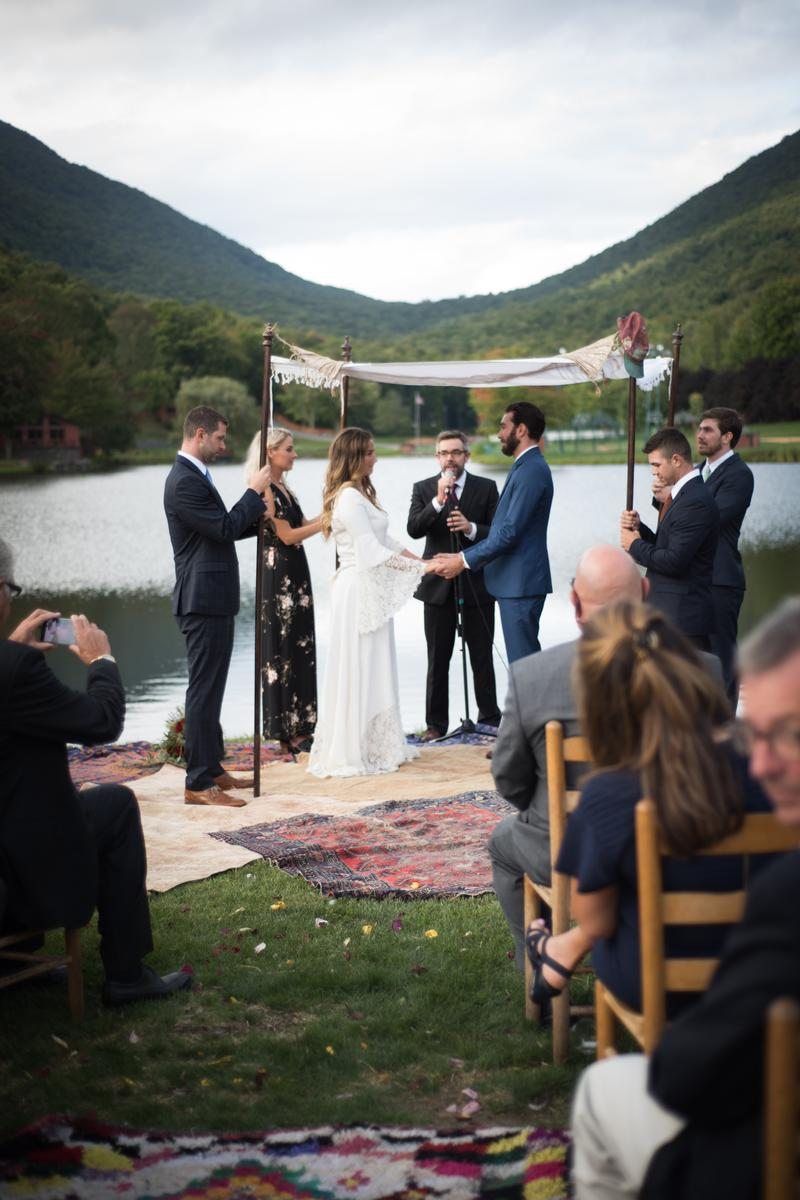 Timber Lake Camp wedding venue picture 6 of 16 - Provided by: Sarah Boisjoli