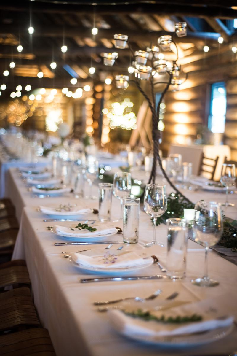 Timber Lake Camp wedding venue picture 10 of 16 - Event Design/Planning: Marjorie Hays, Lighting : LNJ Tech Services, Reception Rentals: Durants Party Rentals