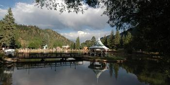 Town of Green Mountain Falls, Park Gazebo Island weddings in Green Mountain Falls CO