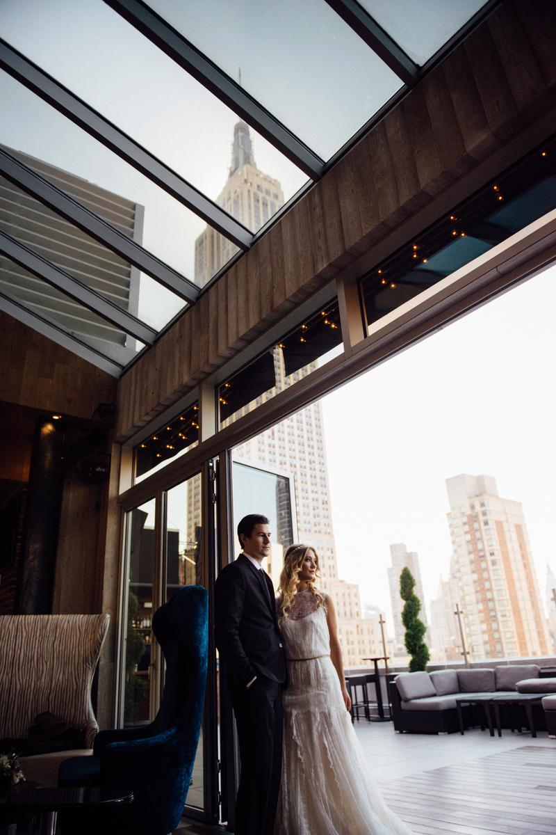 Rooftop wedding venues in nyc - Monarch Rooftop Wedding Venue Picture 13 Of 16 Provided By Monarch Rooftop