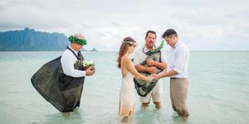 Paradise Bay Resort weddings in Kaneohe HI