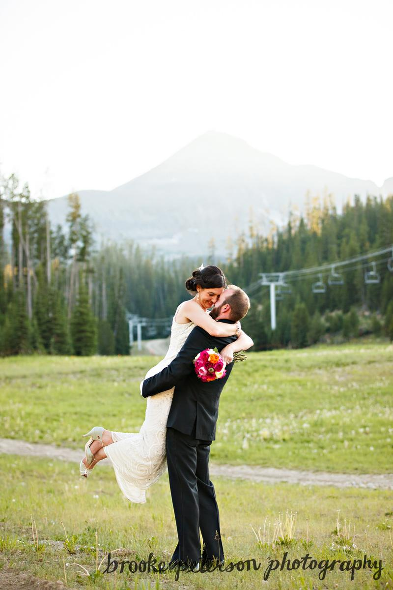 Big Sky Resort wedding venue picture 4 of 14 - Photo by: Brooke Peterson Photography
