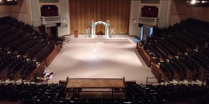 Madison Masonic Center wedding venue picture 11 of 12 - Provided by: Lisa Zimmerman