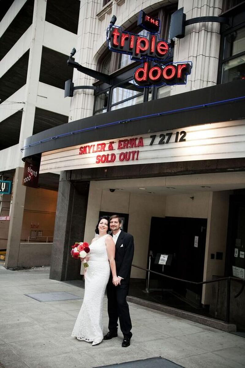 Triple Door Theater Weddings