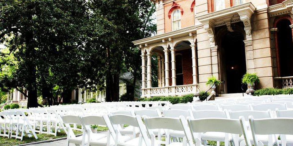 Woodruff Fontaine House Weddings
