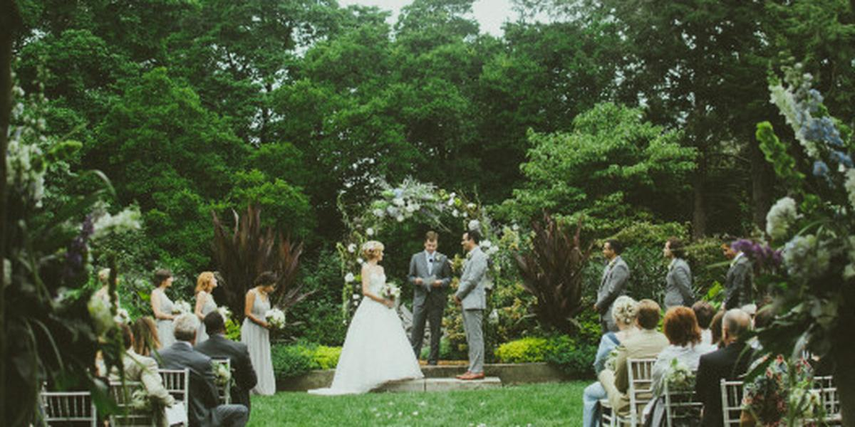Yew Dell Botanical Gardens Weddings | Get Prices for ...