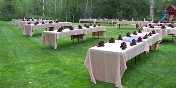 Gallatin River Hideaway - Creekside Pavilions weddings in Bozeman MT