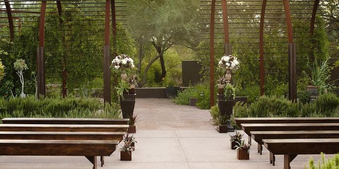 Steele Herb Garden At Desert Botanical Garden Weddings