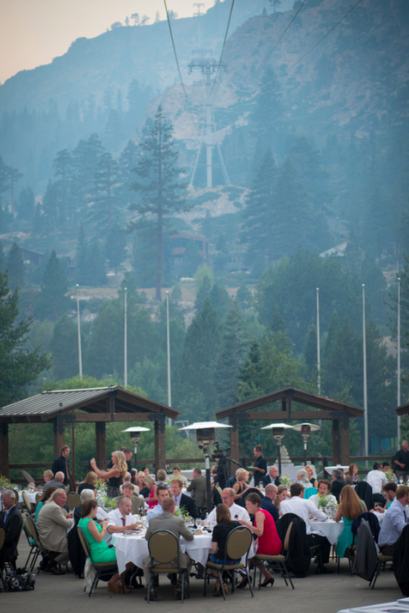 Squaw Valley wedding venue picture 5 of 16 - Photo by: Nicole Dreon Photography