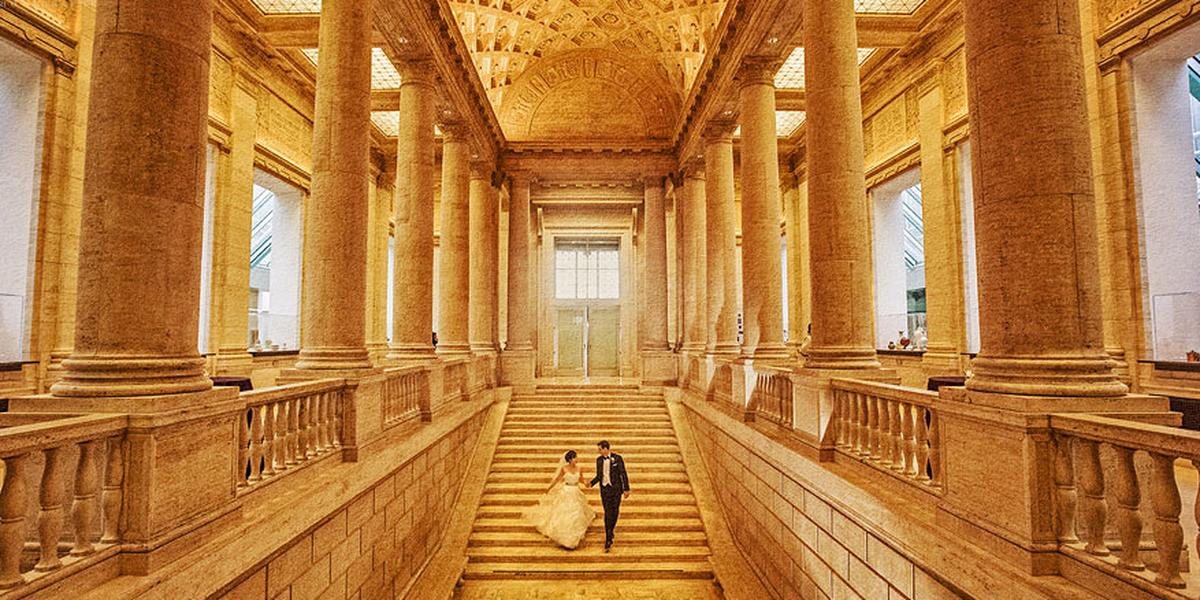 Asian art museum weddings get prices for wedding venues for Museum of art san francisco