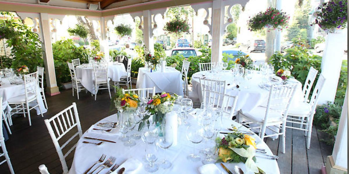 The Gables Historic Inn Restaurant Weddings
