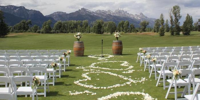 Jackson Hole Golf & Tennis Club wedding Wyoming