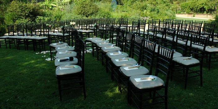 North Carolina Botanical Gardens Weddings