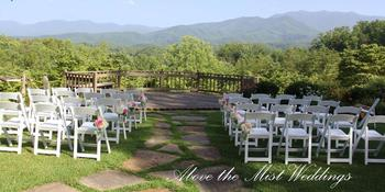 Above the mist Mountain View weddings in Gatlinburg TN