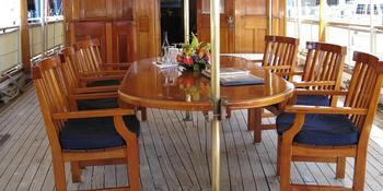 Nautical Holidays: Mariner III weddings in Weehawken NJ